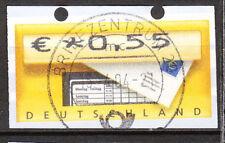 BRD 2002 Automaten-Freimarke 55er Gestempelt (A118)