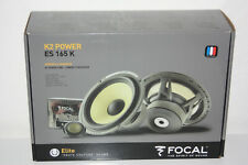 "Focal ES 165 K 6-1/2"" K2 Power 2-Way Component Speakers NEW"