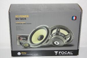 """Focal Elite ES 165 K 6-1/2"""" K2 Power 2-Way Component Speakers NEW"""