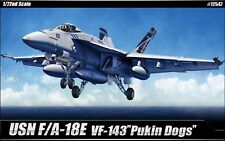 """1/72 US Navy F/A-18E VF-143 """"Pukin Dogs"""""""