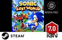 Sonic Lost World [PC] Steam Download Key - FAST DELIVERY