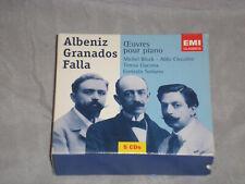 ALBENIZ GRANADOS  FALLA OEUVRES POUR PIANO 5-CD BOX SET