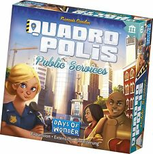 Public Services Quadropolis Expansion Board Game Days Of Wonder DOW 8502