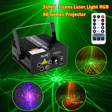 Garden Laser Projector Stage Lights LED RGB Xmas Party KTV DJ Disco Moving Light
