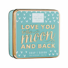 """""""Love You To The Moon and Back"""" Luxury Soap Bar 100g-Scottish Fine Soap Company"""