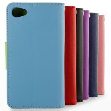 For Sony Xperia Z5 Compact/ Mini Wallet Case Credit Card Stand Phone Cover