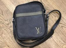 Louis Vuitton Danube Slim PM Leather Shoulder Bag LV