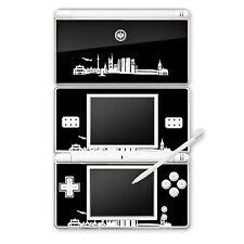 Nintendo DS Lite Folie Aufkleber Skin - Frankfurter Skyline