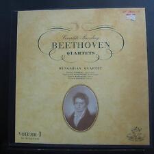 Hungarian Quartet - Complete Beethoven Quartets Vol. I 3 LP VG+ ANG.35107 1st UK
