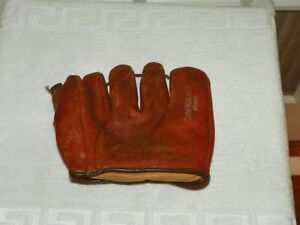 Vintage FRANKLIN F417 Clyde Vollmer Model Right Handed Thrower Fielders Glove