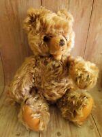 "Vintage Hermann Mohair Teddy Bear Zotty Full Jointed 12"""