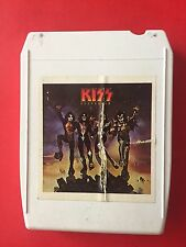 KISS Destroyer 8 Track Tape NBLP 87025