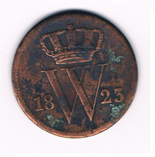 1 cent 1823  Brussel    Willem I Nederland / Belgie