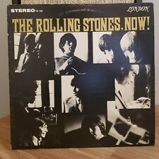The Rolling Stones Now 1964 London Records Blue Label Uncensored w/ Inner Sleeve