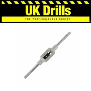 TAP WRENCH TOP QUALITY, HOLDER FOR USE WITH HSS HAND TAPS/SETS FROM M1 - M27