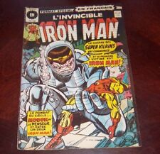 Editions Heritage Invincible Iron Man # 29 1976 French Edition Black White #2