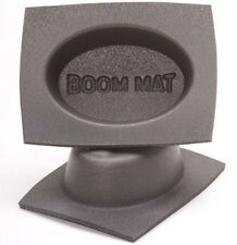 "DESIGN ENGINEERING DEI 050351 BOOM MAT 4""X6"" OVAL SLIM SPEAKER BAFFLES PAIR 4x6"