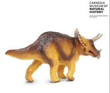 Triceratops - Discontinued Safari Carnegie Brown 3-Horn Dinosaur