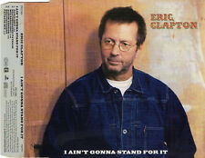 "ERIC CLAPTON ""I AIN'T GONNA STAND FOR IT"" GERMAN PROMO CD MAXI / STEVIE WONDER"
