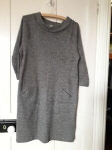 White stuff grey dress size 12