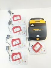 Physio Control Life Pak Cr Plus Automatic With 5 Quick Pak Defibrillation Pads