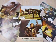 OPERATION V2 ! David McCallum  jeu photos cinema lobby cards 1968