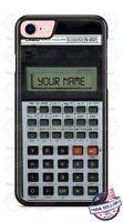Casio Scientific Calculator Customized Phone Case with name for iPhone LG etc