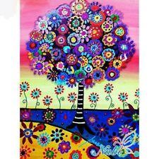 Oso Oso Medio Taladro Diamante Pintura Kit de flores bordado cross stitch Craft