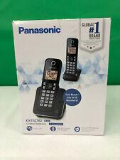 Panasonic KX-TGC352B Expandable Cordless Phone w/ Backlit Display - Black