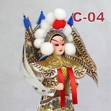 C-04 China Peking Oper chinesisch Puppe Figur Seide 31 cm Neu Geschenkidee OVP