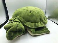 Australian Geographic Turtle Green Realistic Plush Kids Soft Stuffed Toy Animal