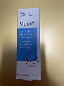 Murad Acne Control InvisiScar Resurfacing Treatment 0.5oz/15ml NEW IN BOX 🔥 🔥