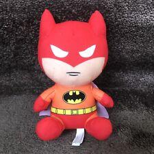 "Batman Justice League Plush Orange Red 7"" Toy Factory Doll DC Bruce Wayne Comics"