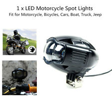 20W LED Motorcycle Spot Driving Fog Lamp Auxiliary Light +USB Port For Car SUV
