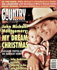 Country Weekly Magazine December 24 1996 John Michael Montgomery, Willie Nelson