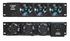 NEW Pyle PFN31 19'' Rack Mount DJ Equipment Cooling Fan System