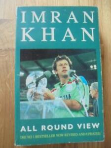 All Round Khan, Imran Khan - SIGNED 1992 Mandarin paperback