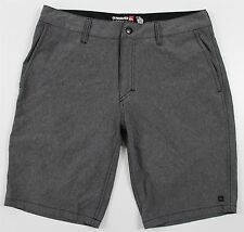 "NEW Quiksilver Amphibian 20"" Boardshorts MENS 32 Heathered Gray Surf Beach"