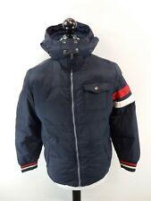 TOMMY HILFIGER Boys Jacket Coat XL Boys Blue Nylon Hooded