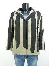 Annette Görtz chaqueta GR 40/negro-gris & Noble-como nuevo (n 1170)