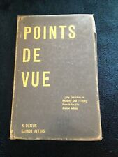 K. DUTTON, POINTS DE VUE,  80 EXCERCISES  INFRENCH FOR JUNIOR SCHOOL. 1970