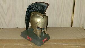 Neca 300 Miniature Spartan Helmet 2007 Limited Edition DVD Collectible NO DVD