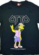 Original Simpsons Shirt OTTO - I LOVE TO GET BLOTTO! schwarz Gr. L Heavy Metal