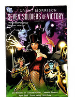 SEVEN SOLDIERS OF VICTORY HARD COVER GRAPIC NOVEL TPB GRANT MORRISON NM+