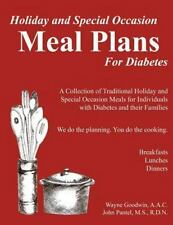 Holiday and Special Occassion MEAL PLANS for Diabetes : A Collection of...