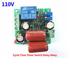 AC 110V Cycle Time Timer Switch Delay Relay ON OFF Repeat 1-20seconds adjustable