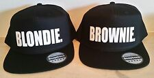 BLONDIE BROWNIE Snapback PAIR Fashion Stampato Snapback CAPS Cappelli HIP-HOP RAPPER