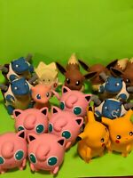 """4"""" Authentic Tomy Figures Lot Of 17 Pokemon"""