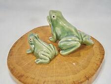 Porzellan Figur Frosch Frösche Schildkröte Tiere Bauernhof Keramik