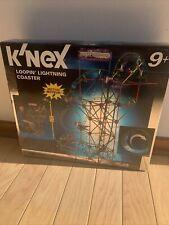 K'Nex Loopin' Lightning Coaster 50025/71085 3.6 ft tall, Great Shape with Box